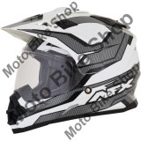 MBS Casca enduro/ATV AFX FX-39DS Veleta, M, negru/alb, Cod Produs: 01104914PE