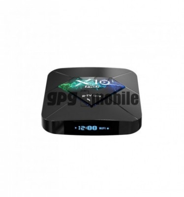 Tv Box X10 PRO Smart Media Player,3D, 4K HDR, RAM 4GB, ROM 64GB, Android 8.1,Quad Core foto