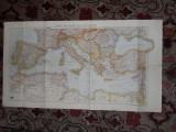 Harta cu Romania 1940 dupa Dictatul de la Viena 1:5000000