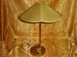 Cumpara ieftin Veioza Art Deco Scandinav, Mid Century Modern, alama, bronz