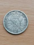 50 Bani 1914 Regele Carol I, Argint