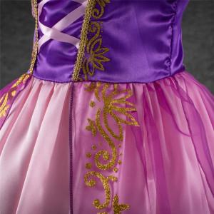 Rochita Rapunzel, Rochie Petrecere, 2-3, 3-4, 4-5, 5-6, 6-7 ani