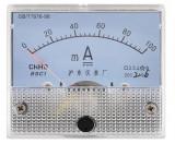 Ampermetru analogic de panou, 100mA DC - 111440