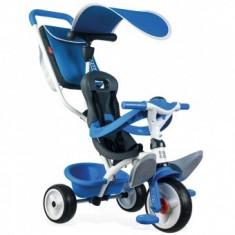 Tricicleta Pentru Copii Smoby Baby Balade - Blue