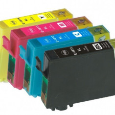PACHET Cartuse EPSON 18XL T-1811-XL T-1812-XL T-1813-XL T-1814-XL compatibile (...