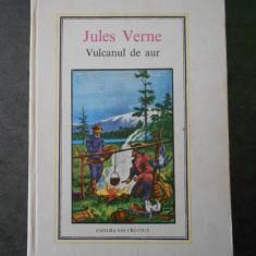 JULES VERNE - VULCANUL DE AUR (1976, Editura Ion Creanga)