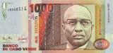 CAPUL VERDE █ bancnota █ 1000 Escudos █ 1989 █ P-60 █ UNC █ necirculata