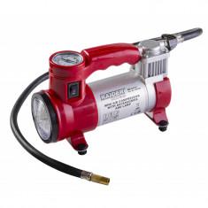 Compresor Raider, 12 V x 180 W, 35 l/min, lampa de lucru, 3 adaptoare incluse