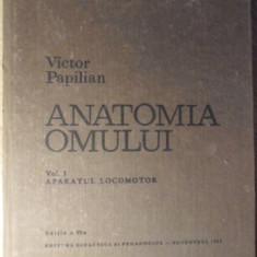 ANATOMIA OMULUI VOL.1 APARATUL LOCOMOTOR - VICTOR PAPILIAN