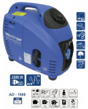 Cumpara ieftin Generator de curent pe benzina tip invertor AD-1500 1.5 kW ADLER MA3700.1