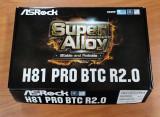Placa de baza ASRock H81 PRO BTC R2.0 - LGA1150