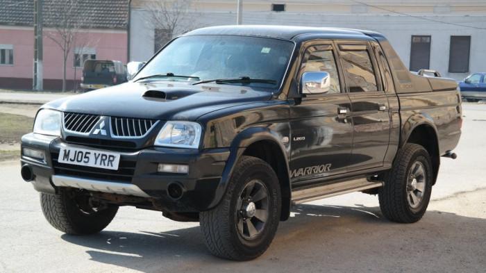 Mitsubishi L200 Warrior 4x4, 2.5 Diesel, an 2005