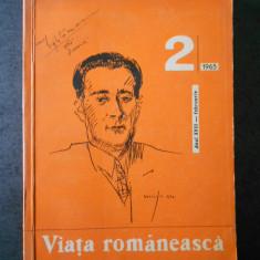 REVISTA VIATA ROMANEASCA. FEBRUARIE 1965, Nr. 2