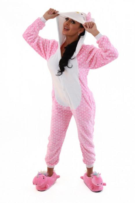 PJM79-225 Pijama intreaga kigurumi, model pisicuta