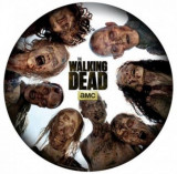 Mouse Pad ABY Style The Walking Dead, Round of zombies, Shape
