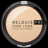 Cumpara ieftin Pudra Relouis pro Icon Look Satin Face Powder, compacta, 9 g