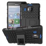 Husa hibrid g-shock pentru Microsoft Lumia 532 , negru