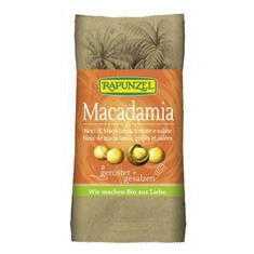 Nuci Macadamia Prajite si Sarate Bio 50gr Rapunzel Cod: 208090