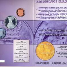 SET MONETARIE 2004 - 50 DE ANI DE LA INAUGURAREA OPEREI ROMANE DIN BUCURESTI