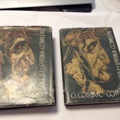 GEORGE COSBUC - COMENTARIU LA DIVINA COMEDIE 2 VOLUME--RF16/3