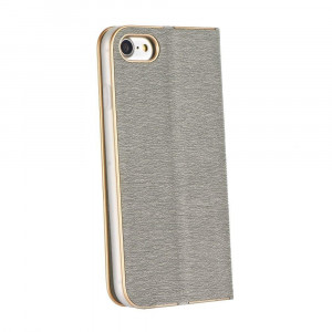 Husa Forcell Luna Book Samsung Galaxy S10 Silver