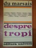 DESPRE TROPI - DU MARSAIS 1981
