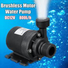 Pompa Apa 12V 800Litri/Ora,6m inaltime, Submersibila lichid irigatii