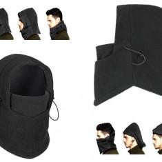 Masca tip Cagula termoactiva pentru Moto sau Ski, Marime Universala, Negru