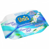 Set 120 Servetele umede antibacteriene cu extract de musetel Unis IV3174Initiala