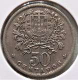 Portugalia 50 centavos 1947, Europa, Cupru-Nichel