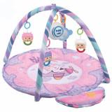 Saltea de joaca muzicala Pink Kitty, Multicolor, Baby Mix