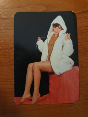 calendar de buzunar din anul 1980 foto