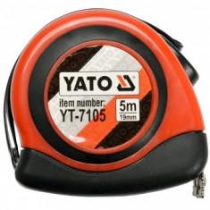 Ruleta Yato YT-7105, 5mx19mm, Automatic, Magnetica