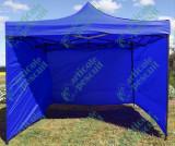 Cort / Pavilion Pliabil  3m x 3m x 2.6h Rosu,Albastru,Verde cu pereti