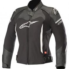 Geaca moto dame piele/textil Alpinestars Stella SPX culoare negru/alb marime 48 Cod Produs: MX_NEW 31132181248AU