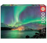 Cumpara ieftin Puzzle Aurora Borealis, 1000 piese, Educa
