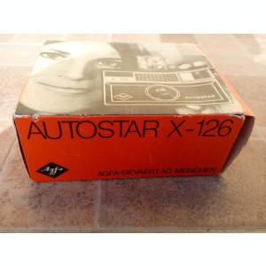 Aparat foto analogic Agfa Autostar X-126 vechi vintage