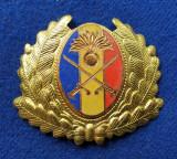 Insigna Militara INFANTERIE ofiter superior Coifura insemn cascheta
