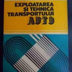 Exploatarea Si Tehnica Transportului Auto - T.nagy C. Salajan ,546210