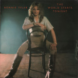 VINIL   Bonnie Tyler – The World Starts Tonight  LP VG+