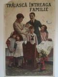 Carte Postala românească, Traiască Întreaga Familie