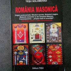 TESU SOLOMOVICI - ROMANIA MASONICA