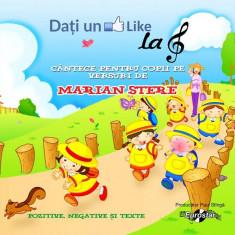 """CD Marian Stere – Dați Un """"Like"""" La Cheia Sol - Cântece Pentru Copii Pe Versuri"""