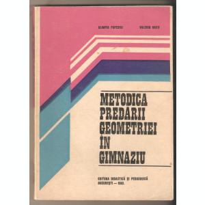 Metodica predarii geometriei in gimnaziu -Olimpia Popescu