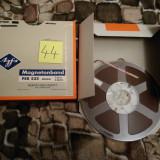 44.Banda Magnetofon AGFA rola policarb.26cm-Clasic (Akai,Teac,Tascam,Revox,BASF)