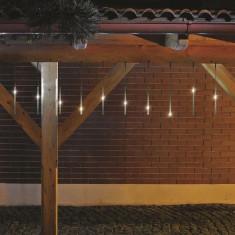 Ghirlanda 10 turturi, 100 LED-uri, lumina alba rece, exterior , Home