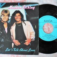 "Modern Talking - Quartett (1986, Amiga) Disc vinil single 7"""