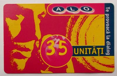 ROMANIA CARTELA ALO 35 UNITATI - PENTRU COLECTIONARI ** foto