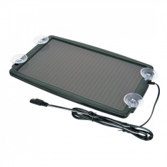 Incarcator solar pentru baterie auto 12V, 138mA, Carpoint Kft Auto