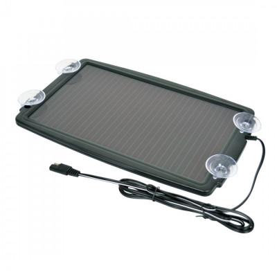 Incarcator solar pentru baterie auto 12V, 138mA, Carpoint foto
